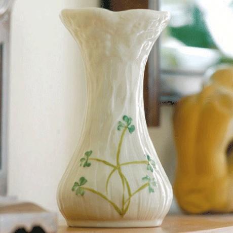 Belleek Daisy Spill Vase Irish Crossroads