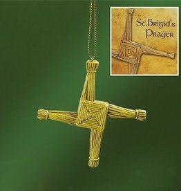 ORNAMENTS ST. BRIGID'S CROSS ORNAMENT WITH CARD
