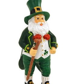 ORNAMENTS IRISH SANTA ORNAMENT