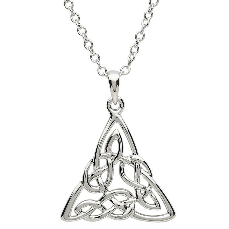 Platinumware celtic intricate trinity pendant irish crossroads pendants necklaces platinumware celtic intricate trinity pendant aloadofball Gallery