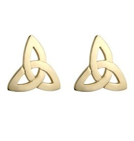EARRINGS SOLVAR 10K TRINITY EARRINGS