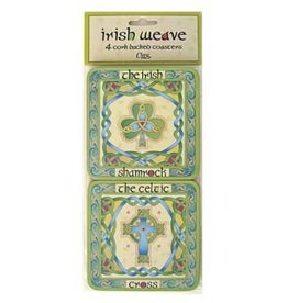 BAR CELTIC WEAVE COASTERS (4)