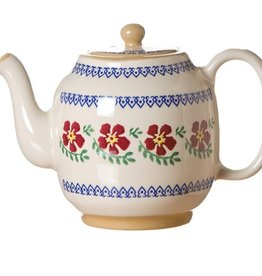 KITCHEN & ACCESSORIES NICHOLAS MOSSE TEAPOT - OLD ROSE