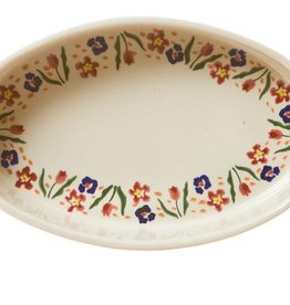 KITCHEN & ACCESSORIES NICHOLAS MOSSE SMALL OVAL OVEN DISH - WILD FLOWER