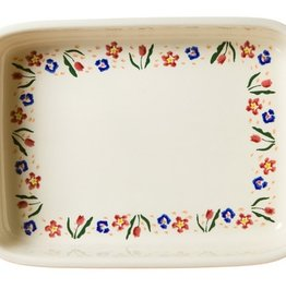 KITCHEN & ACCESSORIES NICHOLAS MOSSE LARGE RECTANGULAR OVEN DISH - WILD FLOWER