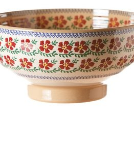 KITCHEN & ACCESSORIES NICHOLAS MOSSE LARGE SALAD BOWL - OLD ROSE