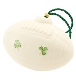 ORNAMENTS AMERICAN FOOTBALL BELLEEK ORNAMENT