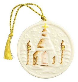 ORNAMENTS SILENT NIGHT BELLEEK ORNAMENT