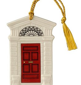 ORNAMENTS GEORGIAN RED DOOR 2015 BELLEEK ORNAMENT