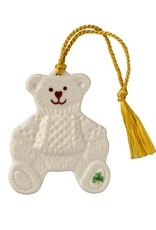 ORNAMENTS TEDDY BEAR BELLEEK ORNAMENT