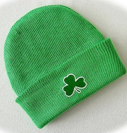 BABY ACCESSORIES NEWBORN CAP WITH SHAMROCK