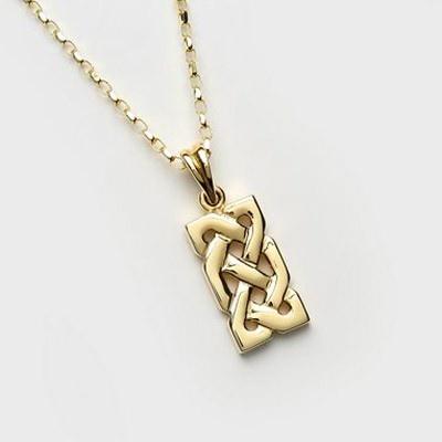 Pendants necklaces larger celtic knot rectangle 10k gold pendant pendants necklaces larger celtic knot rectangle 10k gold pendant mozeypictures Image collections