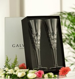 WEDDING FLUTES GALWAY CRYSTAL LONGFORD ROMANCE FLUTES (2)