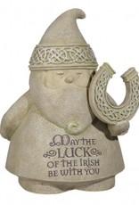 "GARDEN CELTIC GNOME ""LUCK OF THE IRISH"""
