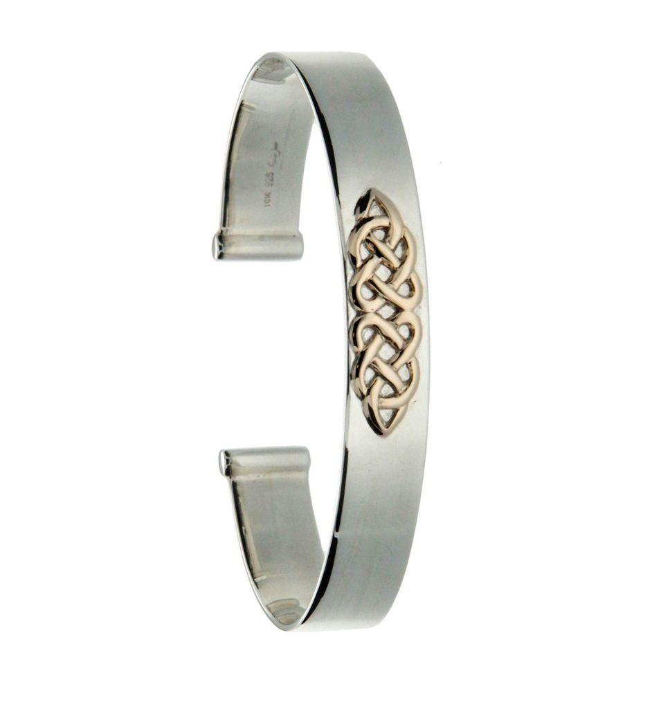 sterling silver bangles celtic bracelet knot bangle