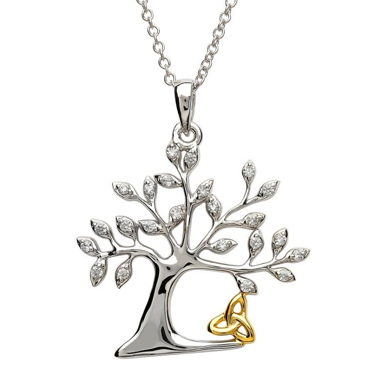Pendants necklaces sterling silver tree of life trinity pendant pendants necklaces sterling silver tree of life trinity pendant mozeypictures Gallery