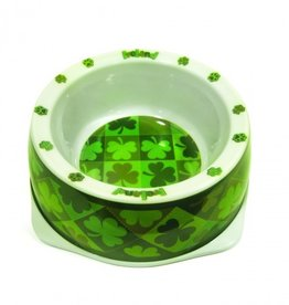 KITCHEN & ACCESSORIES SHAMROCK DOG BOWL
