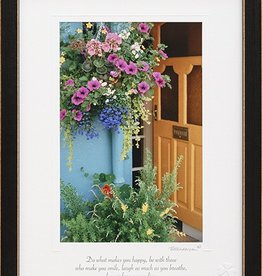 PLAQUES & GIFTS BRIGHT FLOWERS PRINT 9X12