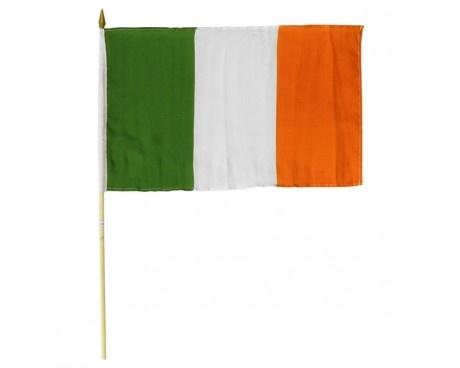 Ireland Flag 12x18 Irish Crossroads