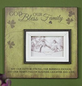 FRAME IRISH FAMILY PHOT PLAQUE