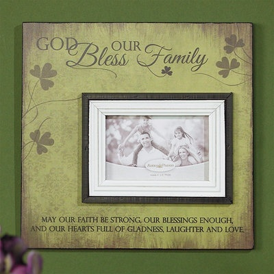FRAME IRISH FAMILY PHOT PLAQUE - Irish Crossroads
