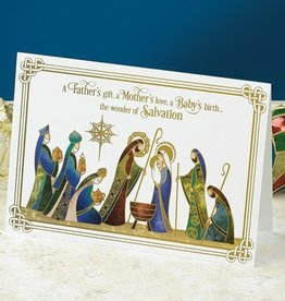 "HOLIDAY ""WONDERS OF SALVATION"" CHRISTMAS CARD PACK"