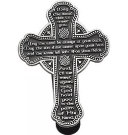 KEYCHAINS/CAR/ETC CELTIC CROSS VISOR CLIP