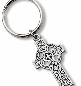 KEYCHAINS/CAR/ETC LARGE CELTIC CROSS KEYCHAIN