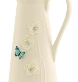 DECOR BELLEEK LIVING BUTTERFLY MEADOW PITCHER