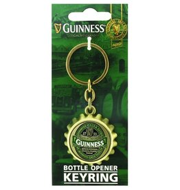 KEYCHAINS/CAR/ETC GUINNESS IRELAND BOTTLE OPENER KEYRING
