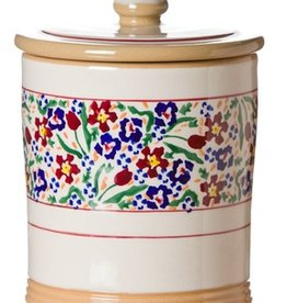 KITCHEN & ACCESSORIES NICHOLAS MOSSE MEDIUM STORAGE JAR - WILD FLOWER