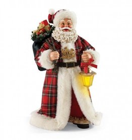 "SANTAS ""PLAID TIDINGS"" SCOTTISH SANTA"