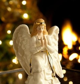 HOLIDAY BELLEEK NATIVITY ANGEL