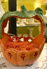 HALLOWEEN LARGE PUMPKIN BASKET