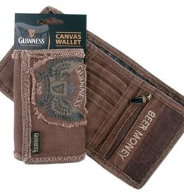 ACCESSORIES GUINNESS WINGS CANVAS WALLET