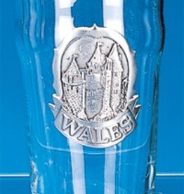 BAR WALES PINT GLASS