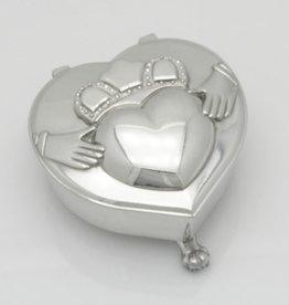 DECOR HEART SHAPED MUSICAL JEWELRY BOX