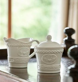 TEAPOTS, MUGS & ACCESSORIES BELLEEK CLADDAGH SUGAR BOWL