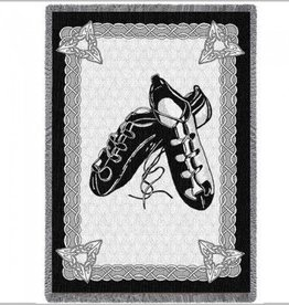 MISC DANCE IRISH STEP DANCING SHOES THROW