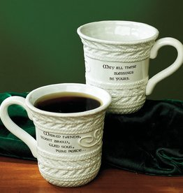 "KITCHEN & ACCESSORIES ""COZY n' CELTIC"" IRISH KNIT MUG"