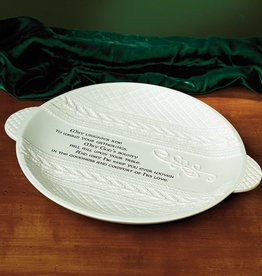 "KITCHEN & ACCESSORIES ""COZY n' CELTIC"" IRISH KNIT PLATE"