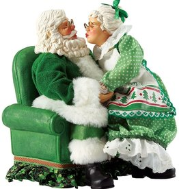 "SANTAS ""IRISH ALL I WANT"" MR & MRS CLAUS"