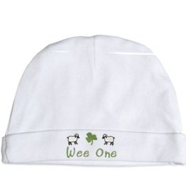 "BABY ACCESSORIES ""WEE ONE"" NEWBORN CAP"