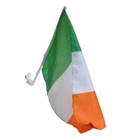 IRISH TCHOTCHKES IRISH CAR FLAG