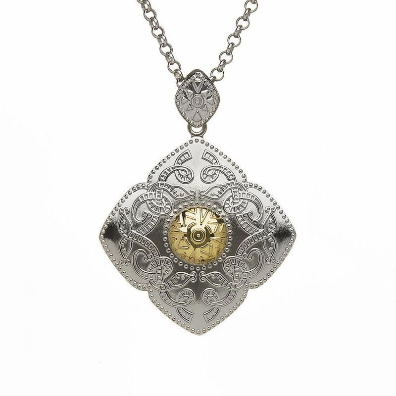 Pendants necklaces boru sterling 18k diamond shaped celtic pendants necklaces boru sterling 18k diamond shaped celtic warrior pendant aloadofball Image collections