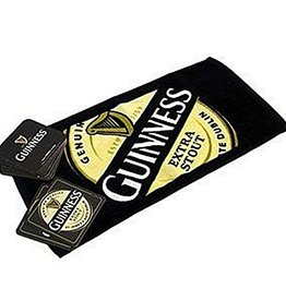 BAR GUINNESS BAR TOWEL & COASTERS SET