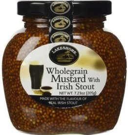 MISC FOODS LAKESHORE WHOLEGRAIN MUSTARD with IRISH STOUT