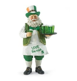 "SANTAS ""LOVE THE IRISH"" SANTA"
