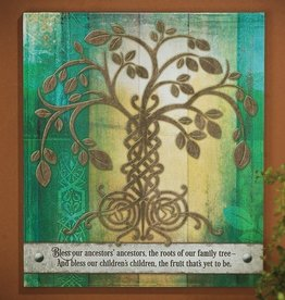 "PLAQUES & GIFTS ""IRISH TREE OF LIFE"" PLAQUE"