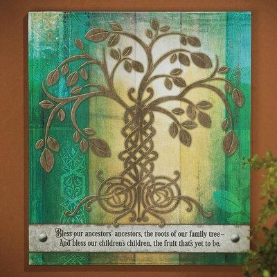 "PLAQUES & GIFTS ""IRISH TREE OF LIFE"" PLAQUE"